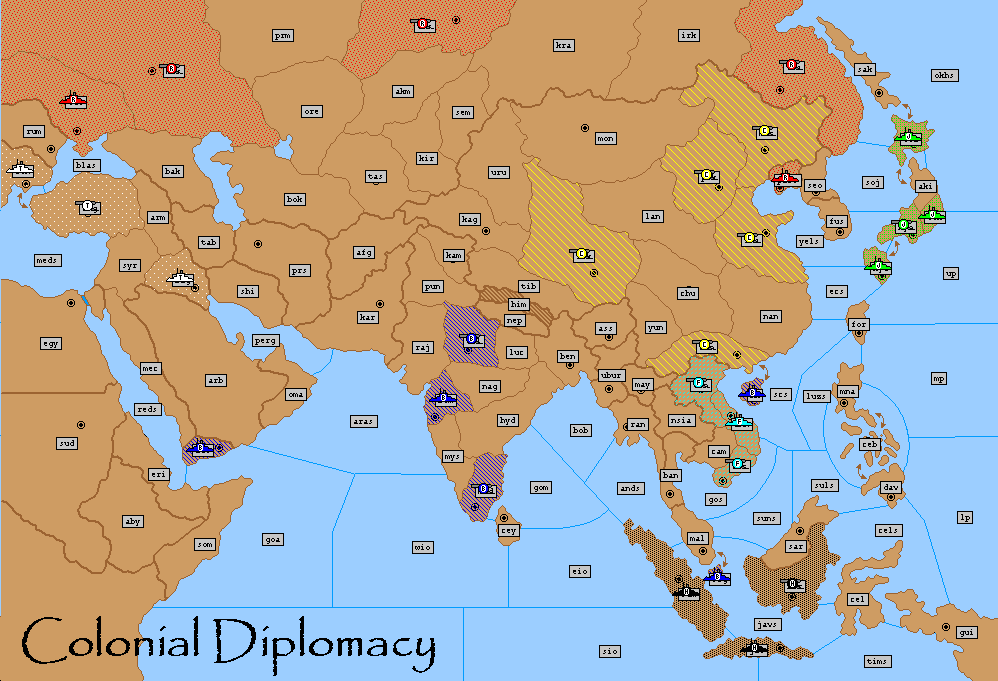 Colonial Diplomacy © Avalon